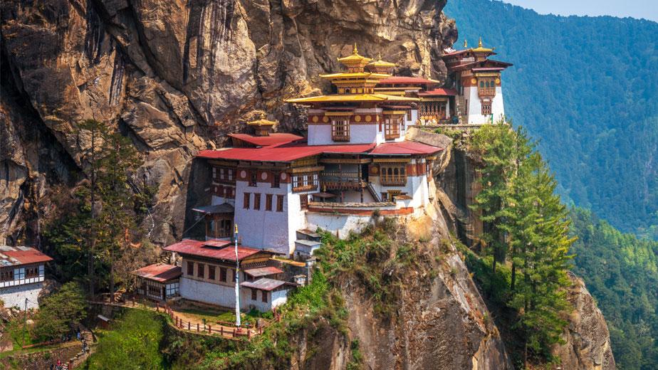 Taktsang Monastery Tiger Nest Monastery Bhutan Travel Druk Asia