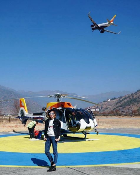 Bhutan Helicopter Adventure Luxury Escape Druk Asia