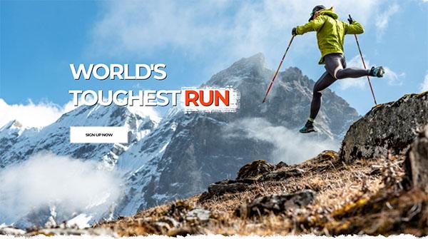 Bhutan Snow Run